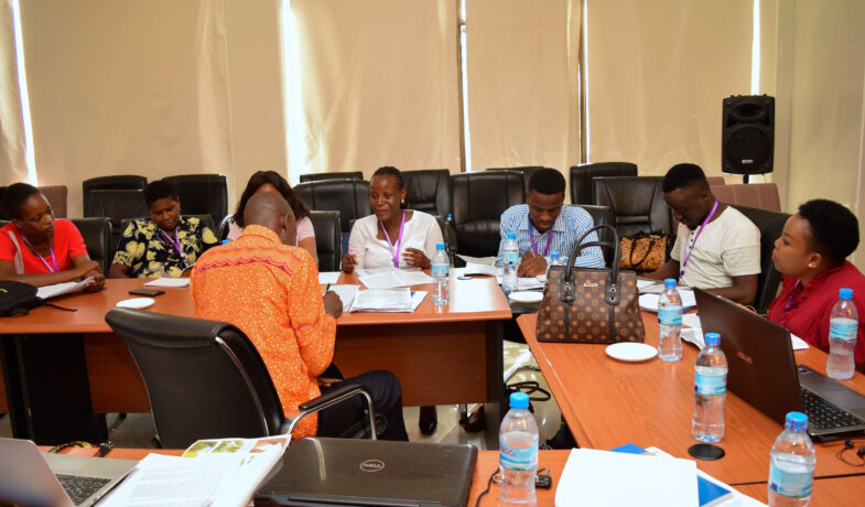 Dr. Nancy Rushohora (Leader of Tanzania IF Lab) Facilitating a breakup session during the workshop