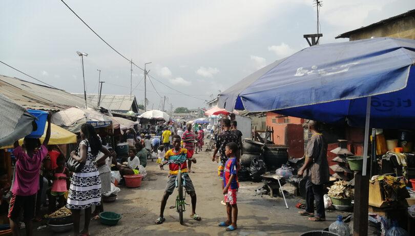 Inside Jamestown, Accra