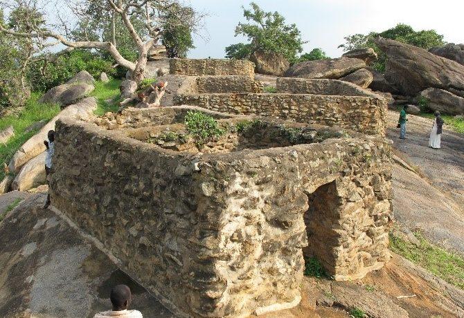 Ruins of Patiko Fort Garrison