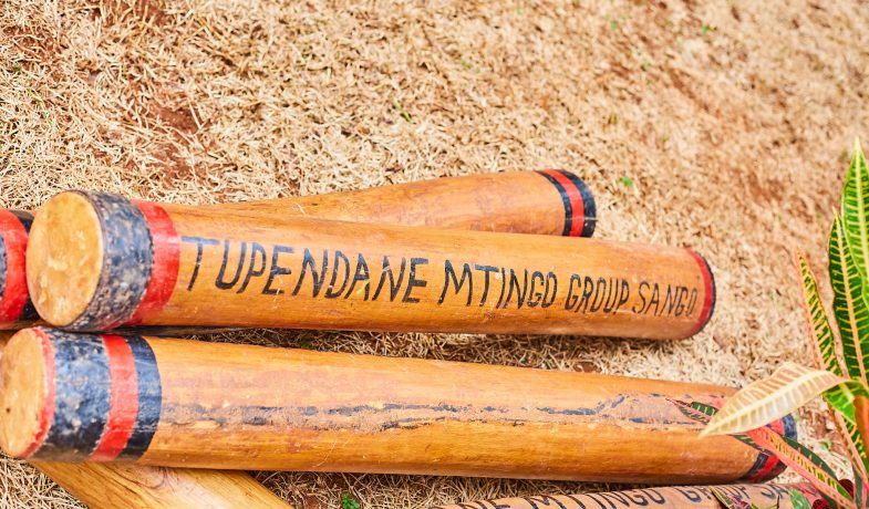 """Traditional Drums known as """"Mtingo """" which are used together with other instruments to make the songs"""